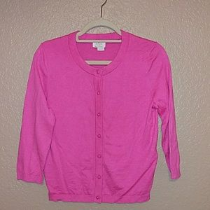 Kate spade pink lightweight sweater/cardigan